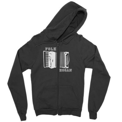 Accordion Zip hoodie